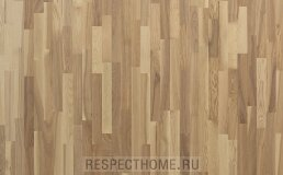 Паркетная доска Polarwood ясень Pluton White Oiled
