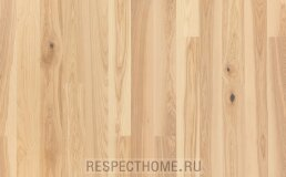 Паркетная доска Polarwood ясень Premium 138 Royal White